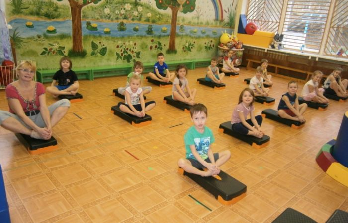 Занятия на степах для старших дошкольников